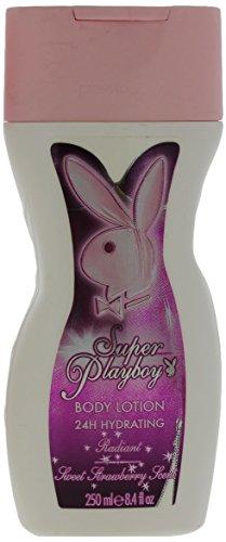 Playboy Super Playboy for Her body milk for women 8.5 oz