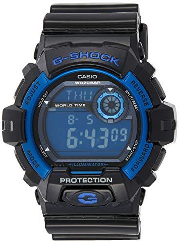 CASIO G-SHOCK G8900A-1D - Bracciale da uomo, in plastica, colore: Nero