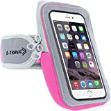 Arm Phone Holder for Running : Phone Armband Sleeve Workout Gear Pouch Case Bag for Apple iPhone 5 6...
