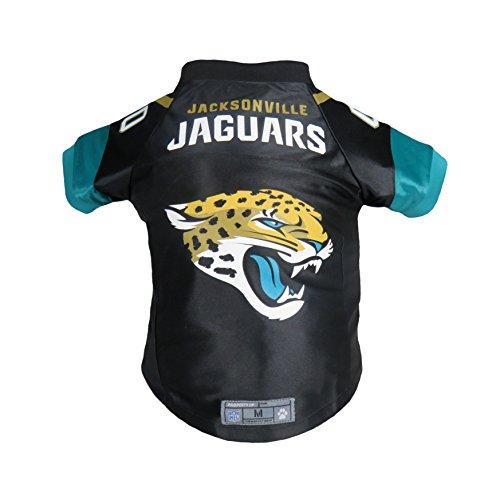 Littlearth NFL Jacksonville Jaguars Premium Pet Jersey, Medium, Black