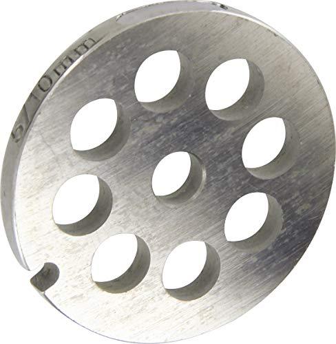 Grille inox Reber - Pour hachoir électrique ou manuel n°5 - Trou 16 mm