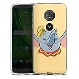 Coque en Silicone Compatible avec Motorola Moto G6 Play Étui Silicone Coque Souple Dumbo Disney...