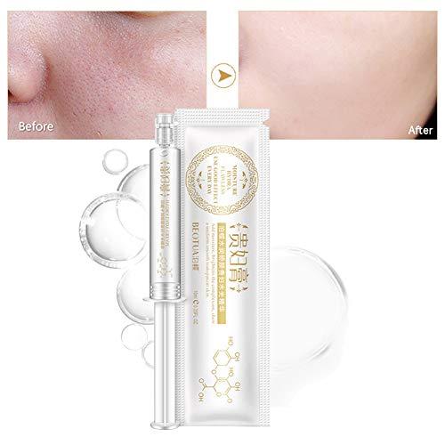 Essence Anti-âge du Visage, KISSION Acide Hyaluronique Sérum Hydratant Rajeunissant Raffermissant Rétrécir les pores Blanchiment (10 ML)