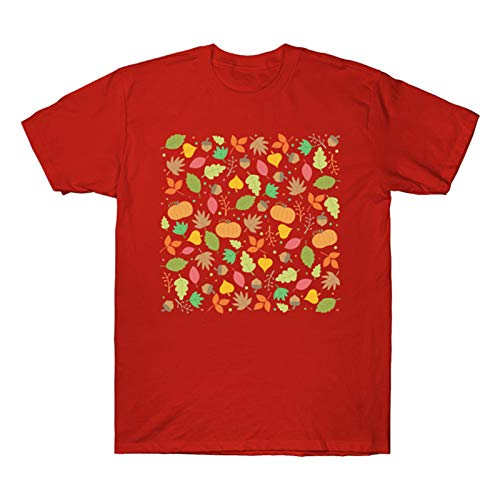 AFFGEQA Freizeit Mode für Herren und Damen mit rundem Hals, Freizeit-Kurzarm-T-Shirt