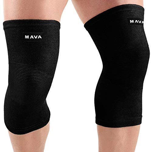 Mava Sports Knee Compression Sleeve Support for Men and Women - Perfect for Joint Pain,...