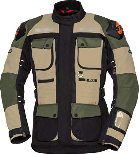 IXS Tour Jacket Montevideo-Rs-1000 Beige-Olive-Black Xl