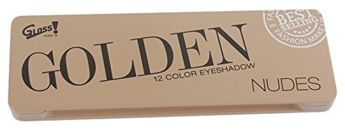 Palette de Maquillage Boîte Beige Nudes - 12 ombres à paupières