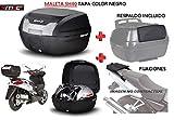 SHAD Kit BAUL Maleta Trasero SH40 litros + FIJACION + Respaldo Pasajero Regalo - KYMCO Grand Dink 300 2016-2018
