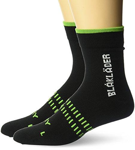 Blakläder Socken Dry, 2 Stück, 40-44, schwarz / neon-grün, 21901093996440-44