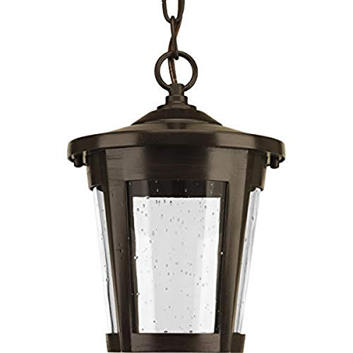 Progress Lighting P6530-2030K9 Contemporary/Soft 1-9W Led Hanging Lantern, Antique Bronze