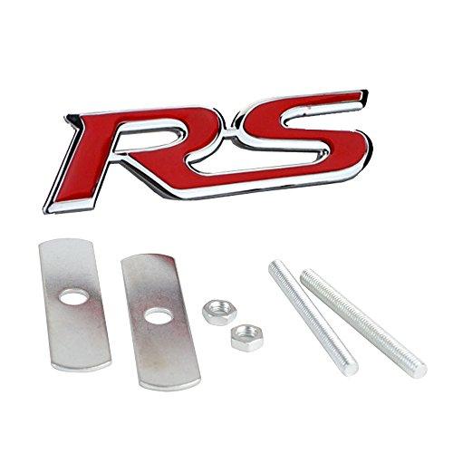 Kühlergrillemblem RS ROT Kühlergrill Emblem