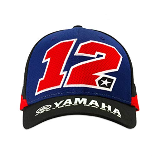 Maverick Vinales 12 Moto GP Yamaha Factory Racing Baseball Gorra ...