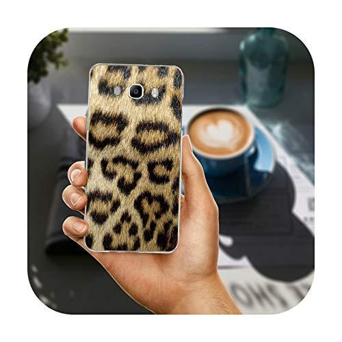 Phonecase - Carcasa para Samsung Galaxy A3, A5, A7, A8, J1, J3, J4, J5, J6, J7, J8, 2015, 2016, 2017, 2018, diseño de tigre y leopardo, imagen 8, para Galaxy A3 2016