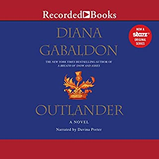 Outlander audiobook cover art