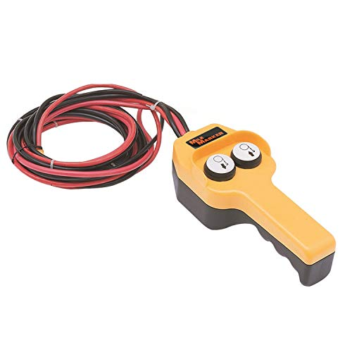 Mile Marker (76-50100-20) Winch Hand Control Assembly, Yellow