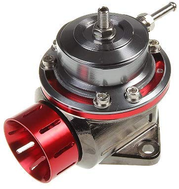 Adjustable and Universal Blow off Valve, Floating Valve Design, 12 Month Manufacturer Warranty (Red)