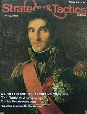 Strategy and Tactics Magazine #113 - Napoleon and the Archduke Charles: The Battle of Abensberg