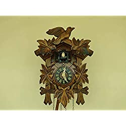 Engstler Quartz Cuckoo Clock 5-Leaves, Bird EN 522 Q
