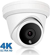 Anpviz 4K Outdoor POE IP Camera,(Hikvision Compatible)UltraHD 8MP Security Camera,3840x2160P Resolution,IP66 Weatherproof Security Camera,Onvif Support,Plug&Play with Hikvision NVR(IPC-D380)