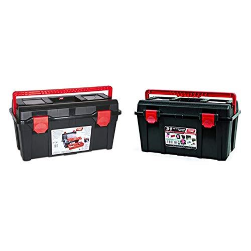 Tayg M255703Caja herramientas n.36 plastico + 131004 Caja Herramientas plástico nº 31, 445 x 235 x 230 mm