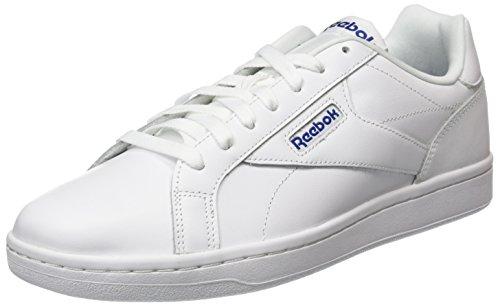 Reebok Cmplt CLN LX, Zapatillas de Gimnasia para Hombre, Blanco (White/Collegiate Royal White/Collegiate Royal), 44 EU