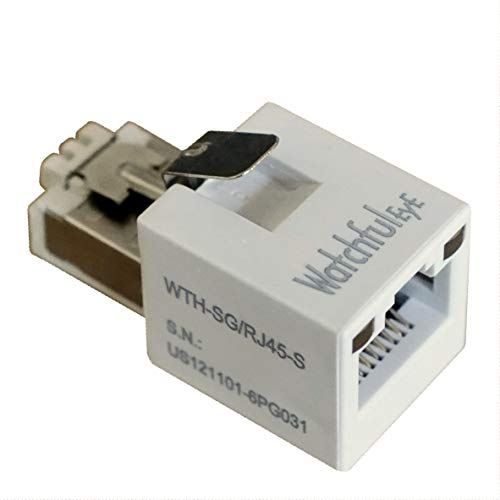 WatchfulEyE WTH-SG/RJ45-S Direct in Line Plug-in Ethernet Surge...