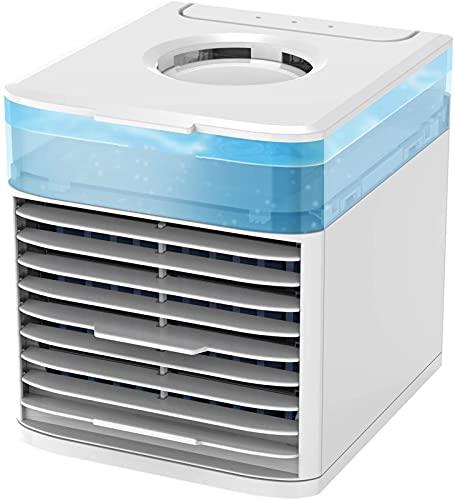 XINGDONG Pequeño acondicionador de Aire Acondicionado refrigerador de Aire enfriamiento de Aire humidificador Purificador, Mini Mini Aire Acondicionado USB Ventilador de enfriamiento de Escritorio, 3