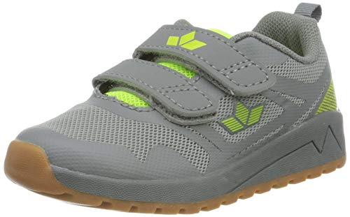 Lico Jungen Cricket V Multisport Indoor Schuhe, Grau (Grau/Lemon Grau/Lemon), 38 EU