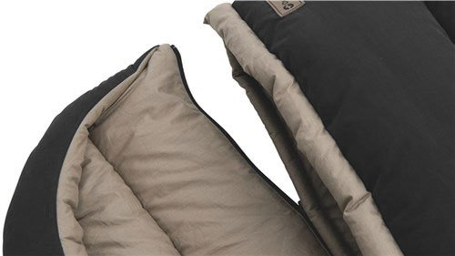 Outwell Unisex Outdoor Constellation Lux Sleeping Bag available in Brown - Double