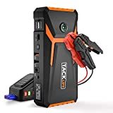 Jump Starter, Tacklife 800A Peak 18000mAh Car Jump Starter, 12V Auto Battery Booster