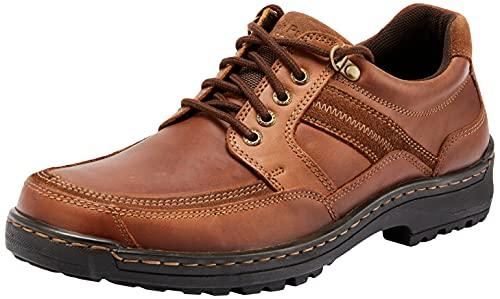 Hush Puppies Men's ALBATROSS shoes, Brown, 11 AU