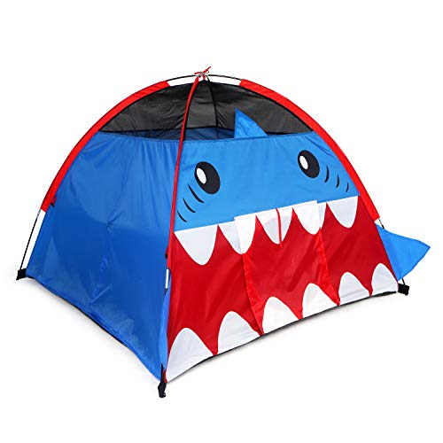 Yodo Kids Play Tent Toddler Tent Indoor/Outdoor Children Playhouse for Boys and Girls,Navy Shark