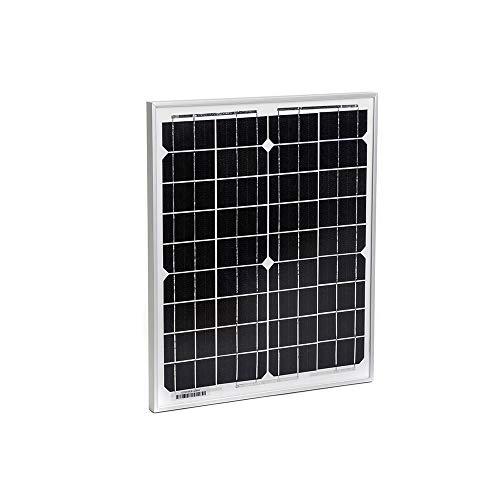 Solarkontor 30 Watt Solarmodul SK30MONO - Solarpanel 12V Monokristalline Solarzellen (30W)