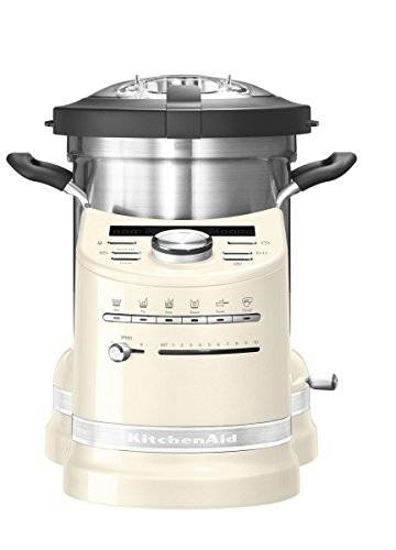 KitchenAid 5KCF0103EAC/4 ARTISAN COOK PROCESSOR, Edelstahl, 45 liters, Almond Cream
