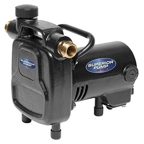 Superior Pump 90050 Transfer Pump , Black