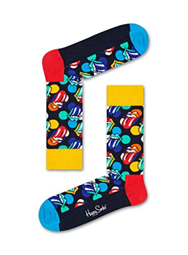 Happy Socks ROLLING STONES BIG LICKS Unisex Freizeitsocken Größe 36-40