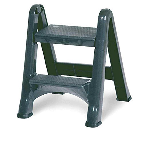 Rubbermaid Commercial 4209 EZ Step 2-Step Folding Stool