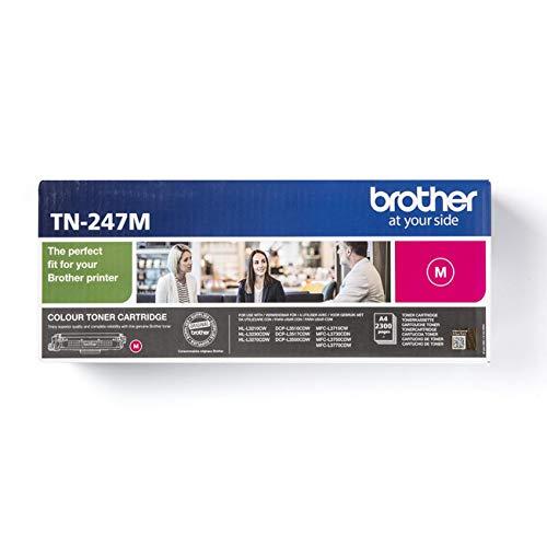 Brother TN-247M Original Jumbo-Tonerkassette (für Brother DCP-L3510CDW, DCP-L3550CDW, HL-L3210CW, HL-L3230CDW, HL-L3270CDW, MFC-L3710CW, MFC-L3730CDN, MFC-L3750CDW und MFC-L3770CDW) magenta