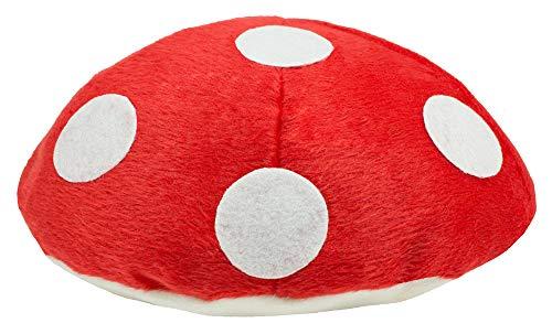 Fliegenpilz Handtasche - Rot Weiß - Umhängetasche Festival Karneval Mottoparty Mushroom Kostüm