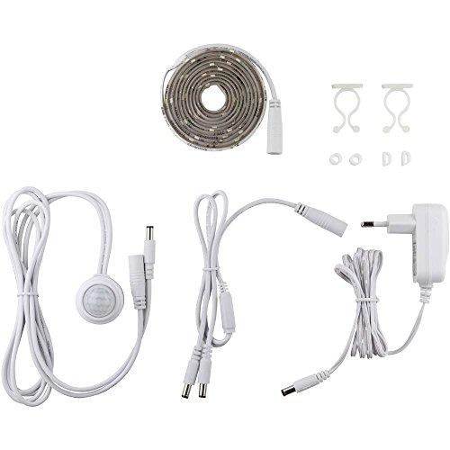Preisvergleich Produktbild LED-Streifen-Komplettset mit Bewegungsmelder EEK: LED (A++ - E) Müller Licht 400226 Leistung: 4.5 W Warm-Weiß