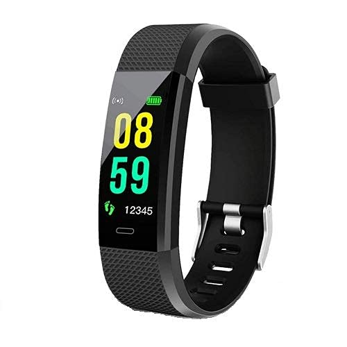 DARCY® ID115 Wireless Water Resistant Sports Fitness Band with Heart Rate Sensor & Activity Tracker Band Compatible with All Smartphones