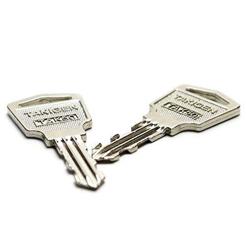 タキゲン TAK50 スペアキー 合鍵 純正品 2本セット