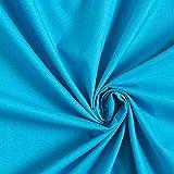 Polyester Baumwoll Mix pflegeleicht – türkis —