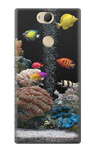 JP0226X2P 水族館 Aquarium Sony Xperia XA2 Plus ケース