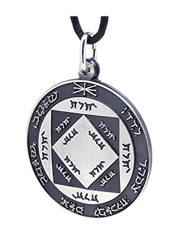 budawi Sonnen Amulett aus 925er Sterling Silber, Silberamulett Sonnenamulett Talisman