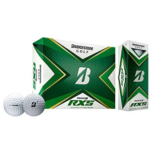 Bridgestone 2020 Tour B RXS Golfbälle, 1 Dutzend, Weiß