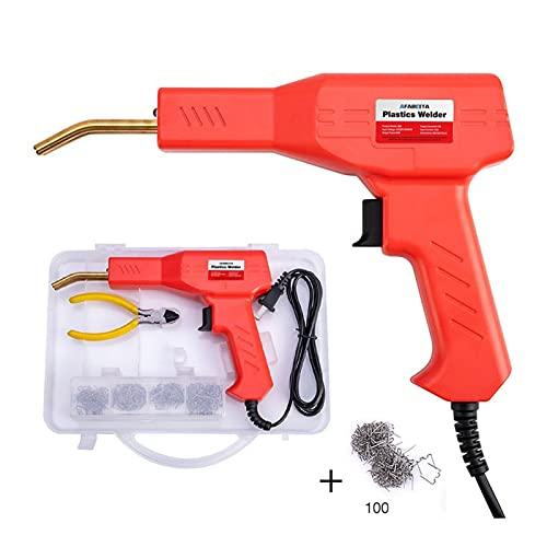 Plastic Welder Kit for Repair 50W Plastic Welders Welding Equipment Car Bumper Repair Hot Stapler Garage Tools Hot Staplers Machine (Color : D)