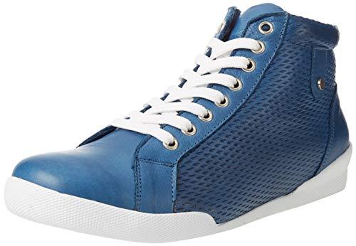 Andrea Conti 341732, Zapatillas Mujer, Jeans, 41 EU