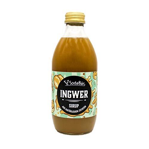 SodaBär© Natural Ingwer-Sirup