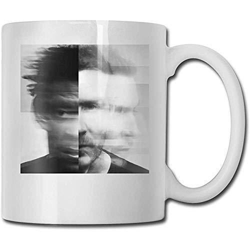 Ataque masivo Las mejores ideas de regalos para el día del padre para tazas de café Taza divertida de regalo de Navidad Taza de bebida de personalidad (330 ml)